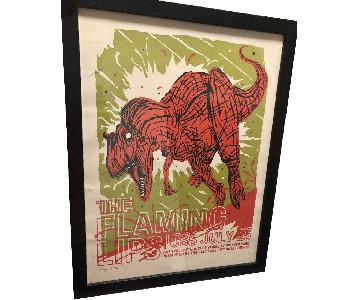 Flaming Lips Limited Edition Signed/Numbered Poster