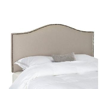 Target Queen Nailhead Trim Headboard