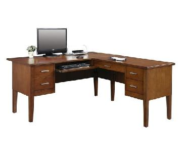 Darby Home Eaton L-Shape Executive Desk