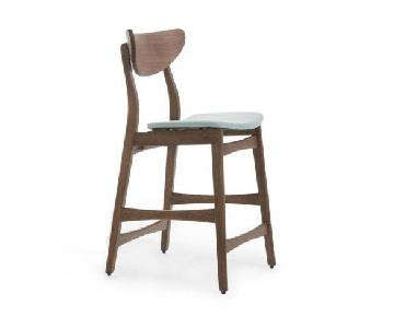Noble House Lawson Counter Stools w/ Backrest