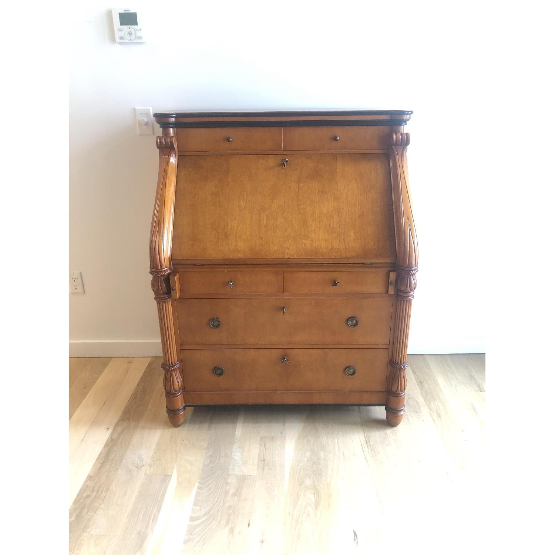 Antique Style Wood Desk-0