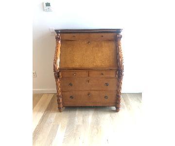 Antique Style Wood Desk