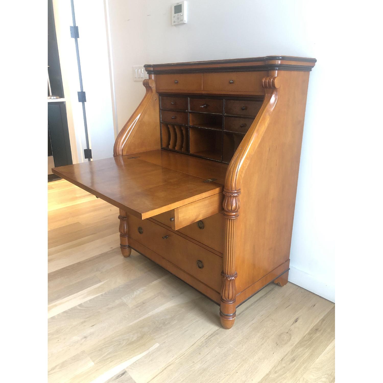 Antique Style Wood Desk-2
