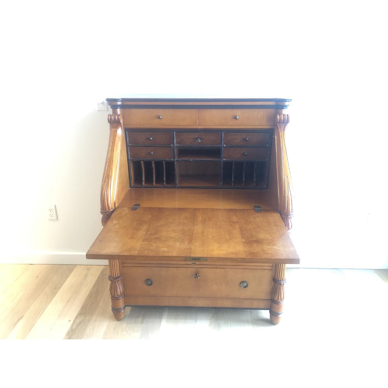 Antique Style Wood Desk-3
