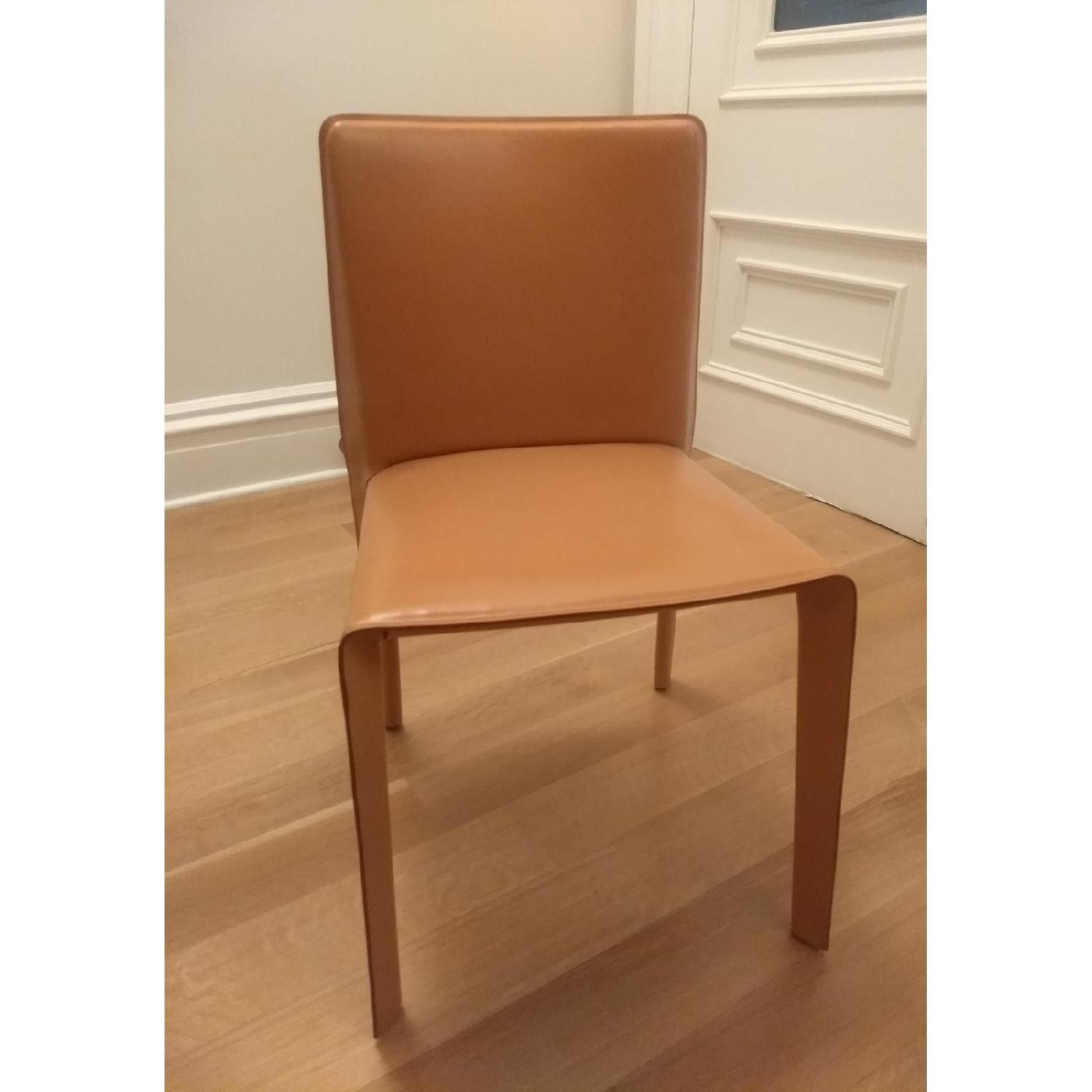 B&B Italia Doyl Dining Chair in Natural Leather-0