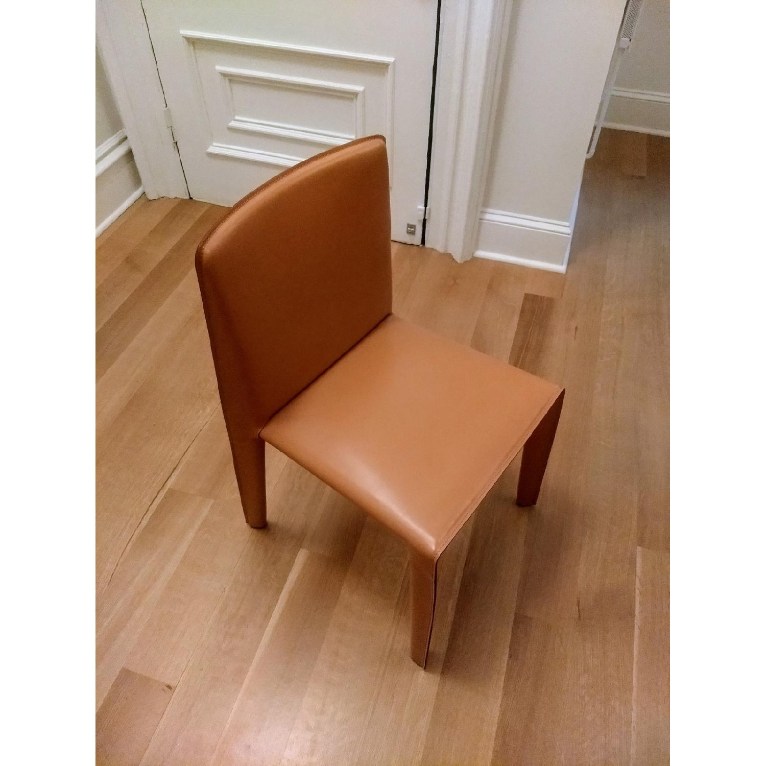 B&B Italia Doyl Dining Chair in Natural Leather-1