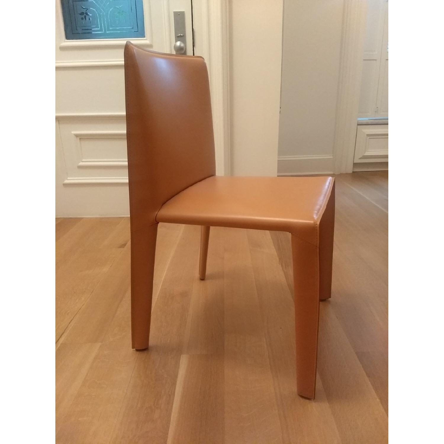 B&B Italia Doyl Dining Chair in Natural Leather-2