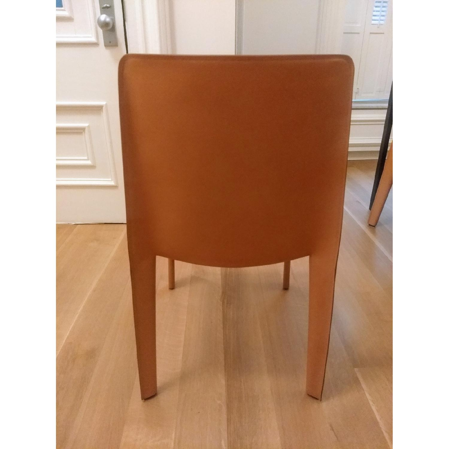 B&B Italia Doyl Dining Chair in Natural Leather-3