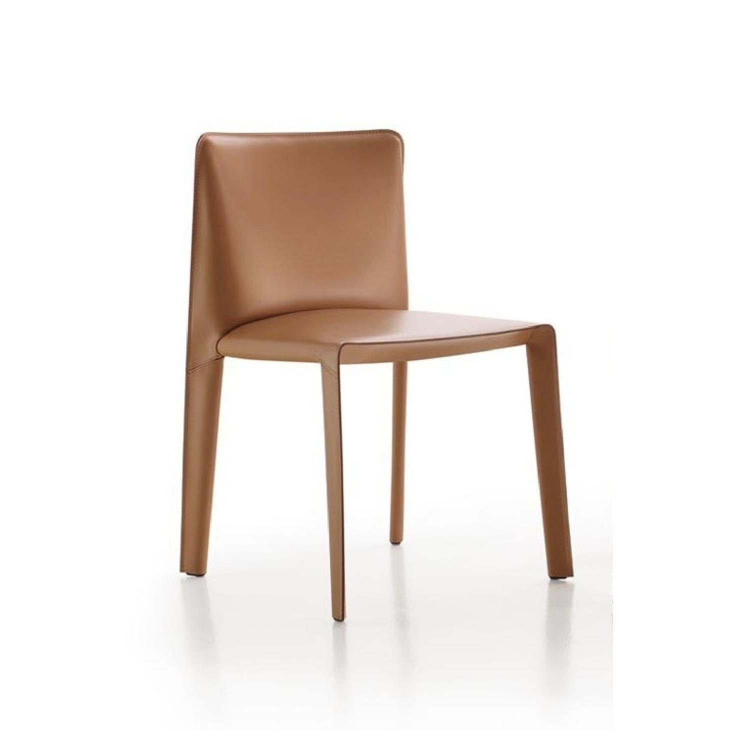 B&B Italia Doyl Dining Chair in Natural Leather