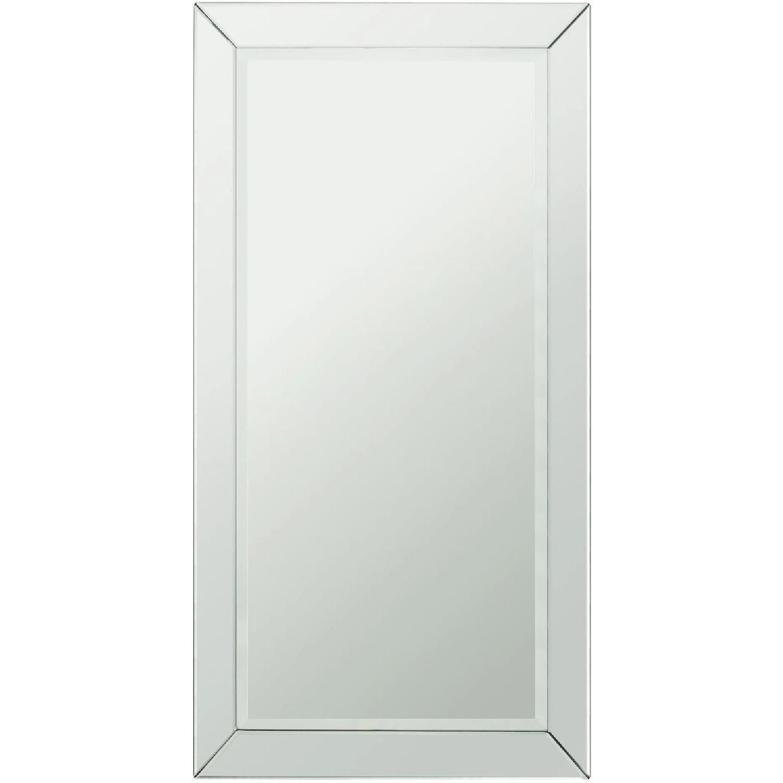 InspireQ Omni Beveled Rectangular Floor Mirror - image-0