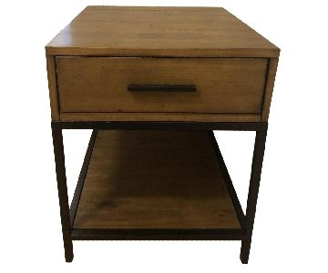 CB2 1-Drawer Nightstand/Side Table