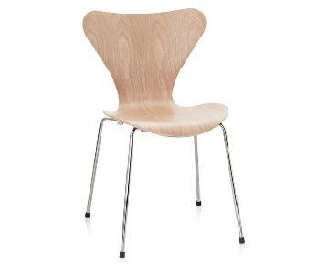 Arne Jacobsen Series 7 Scandinavian Modern Dining Chairs