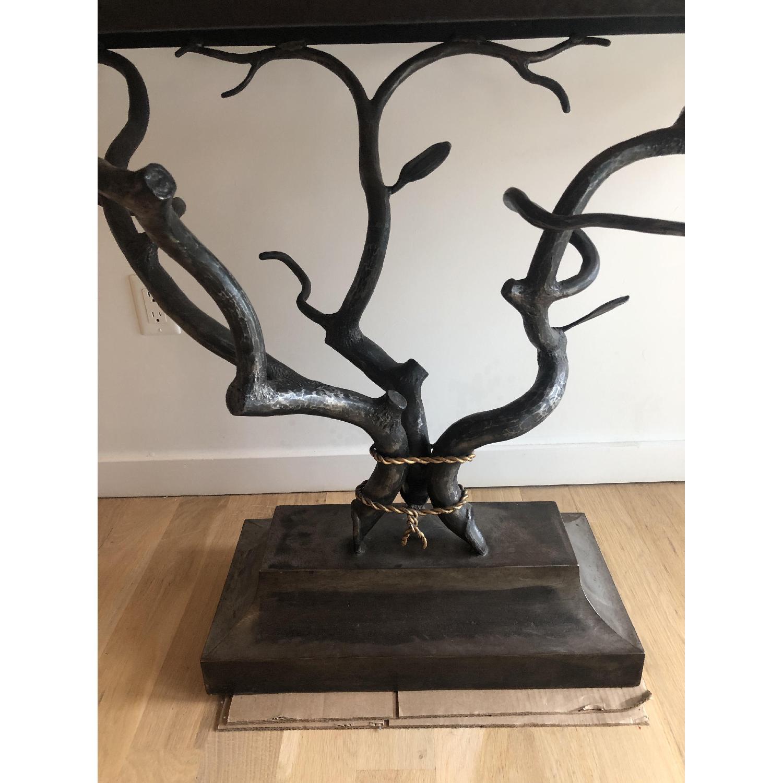 Custom Made Metal Side Table - image-3
