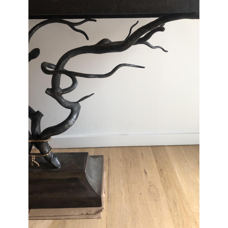 Custom Made Metal Side Table - image-6