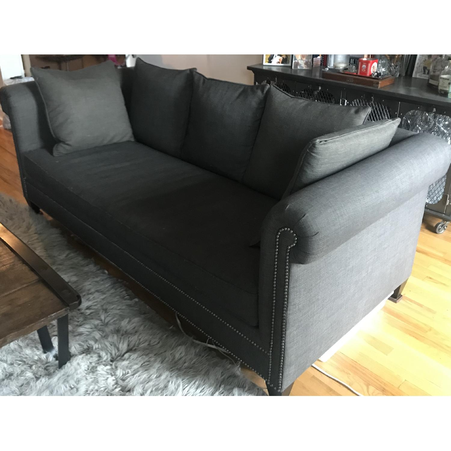 Crate & Barrel 3 Seater Down Filled Sofa - image-1