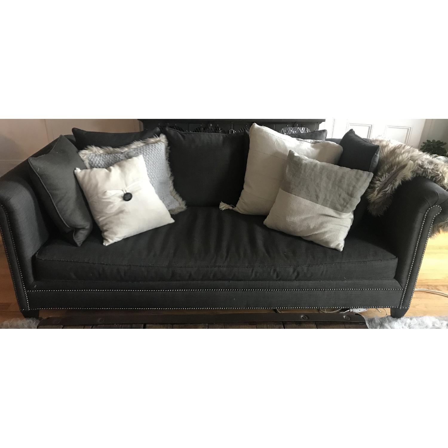 Crate & Barrel 3 Seater Down Filled Sofa - image-2