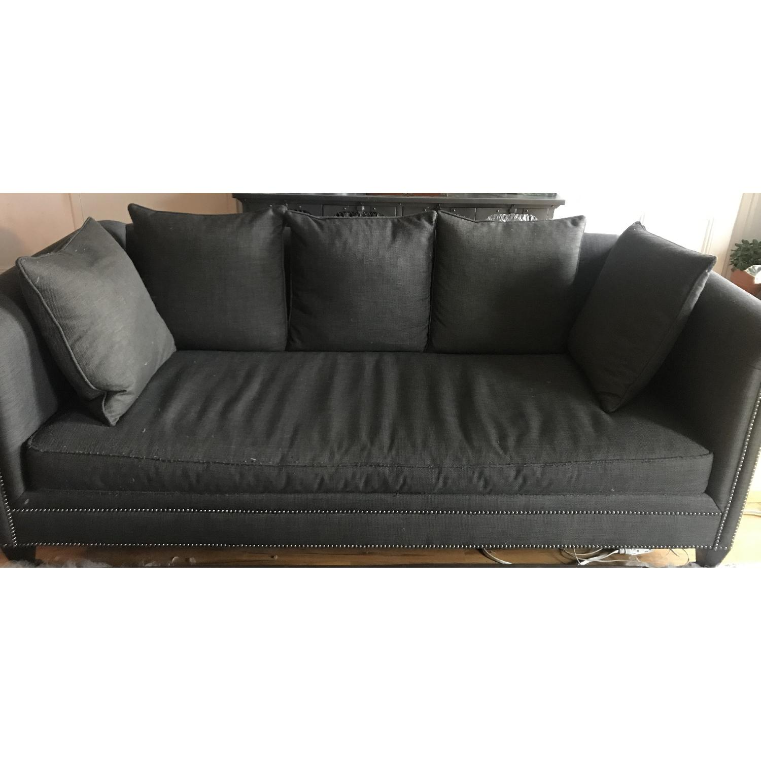 Crate & Barrel 3 Seater Down Filled Sofa - image-3