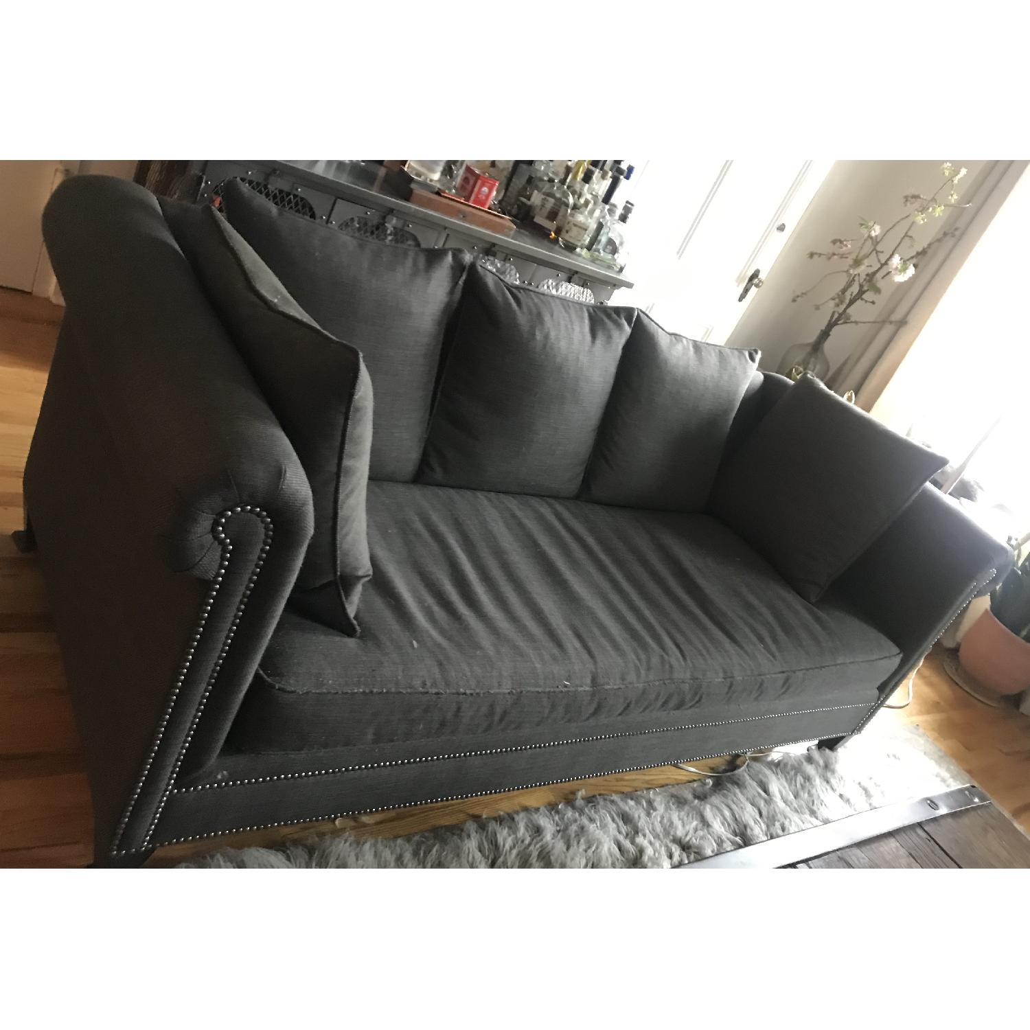 Crate & Barrel 3 Seater Down Filled Sofa - image-4