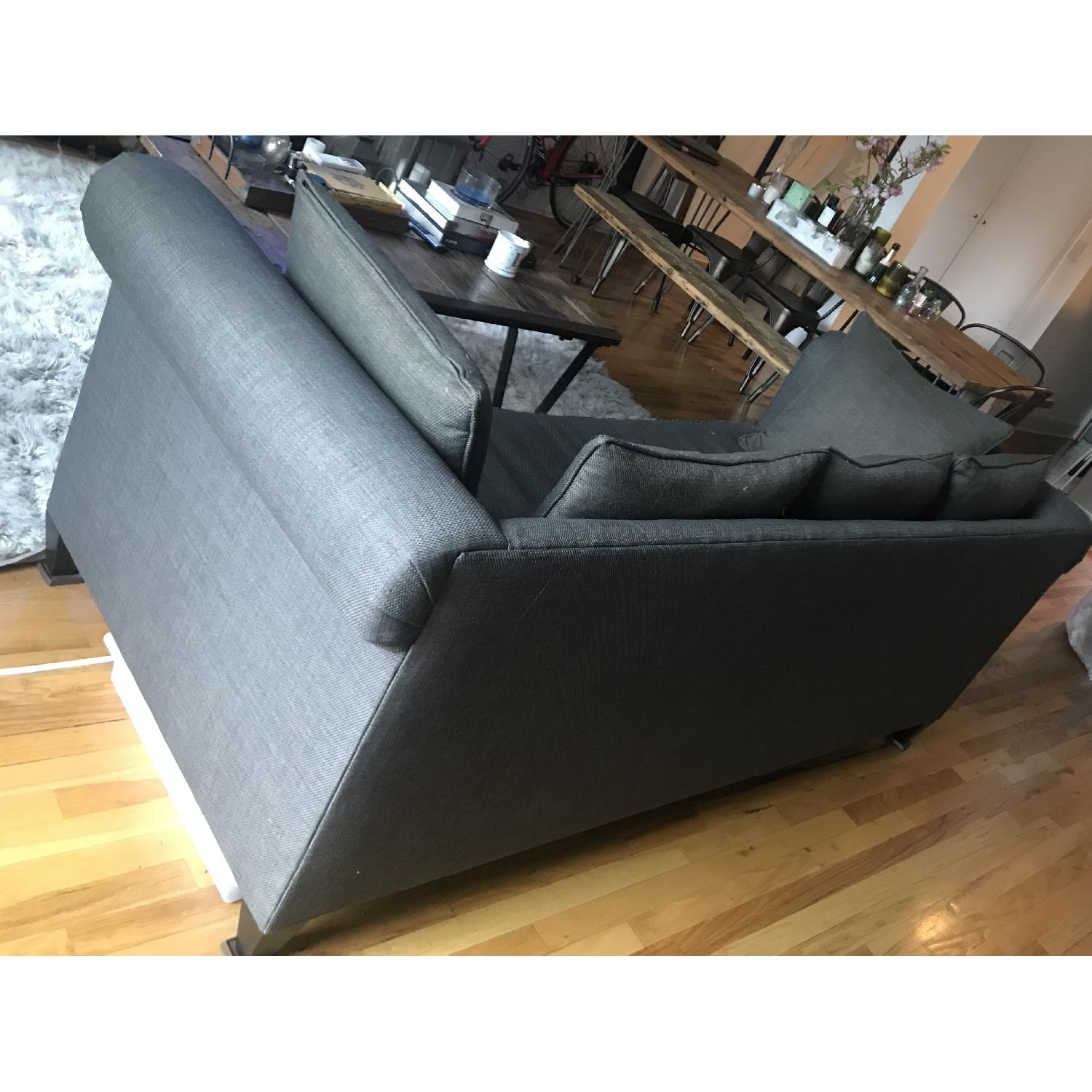 Crate & Barrel 3 Seater Down Filled Sofa - image-7