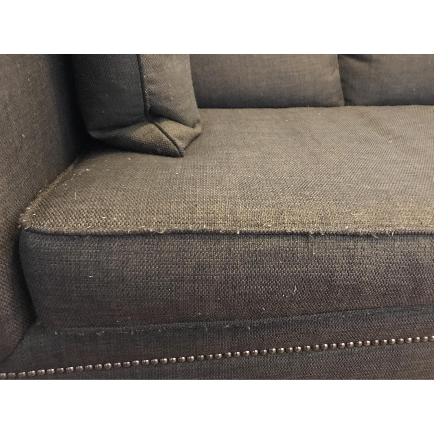 Crate & Barrel 3 Seater Down Filled Sofa - image-10