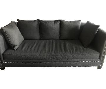 Crate & Barrel 3 Seater Down Filled Sofa