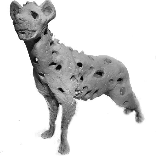 Used Hyena Sculpture for sale on AptDeco