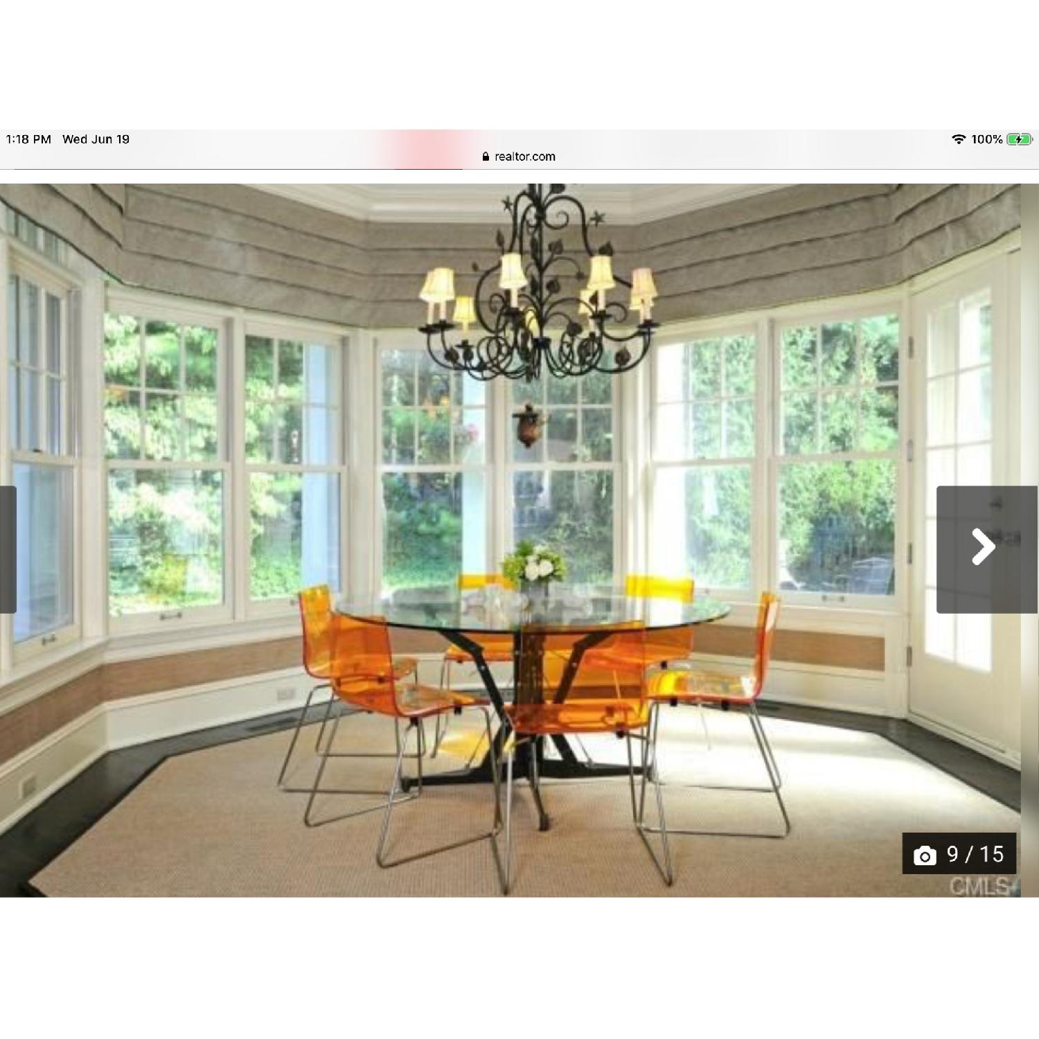 Kartell Acrylic Dining Chairs - image-1