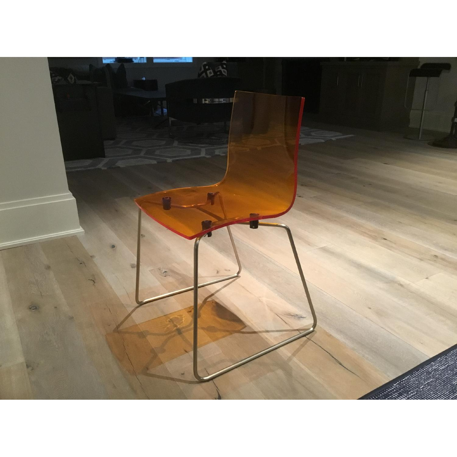 Kartell Acrylic Dining Chairs - image-2