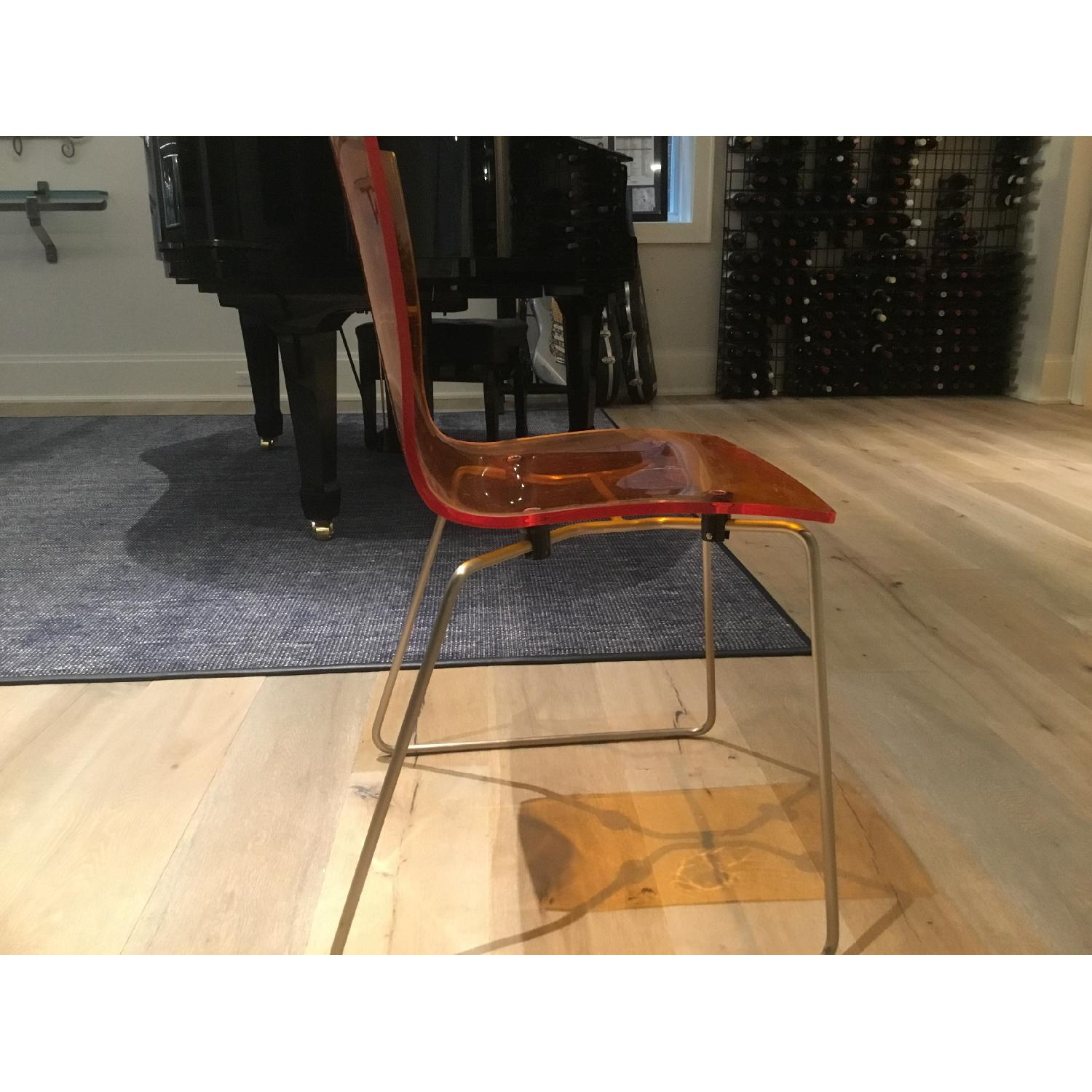 Kartell Acrylic Dining Chairs - image-3