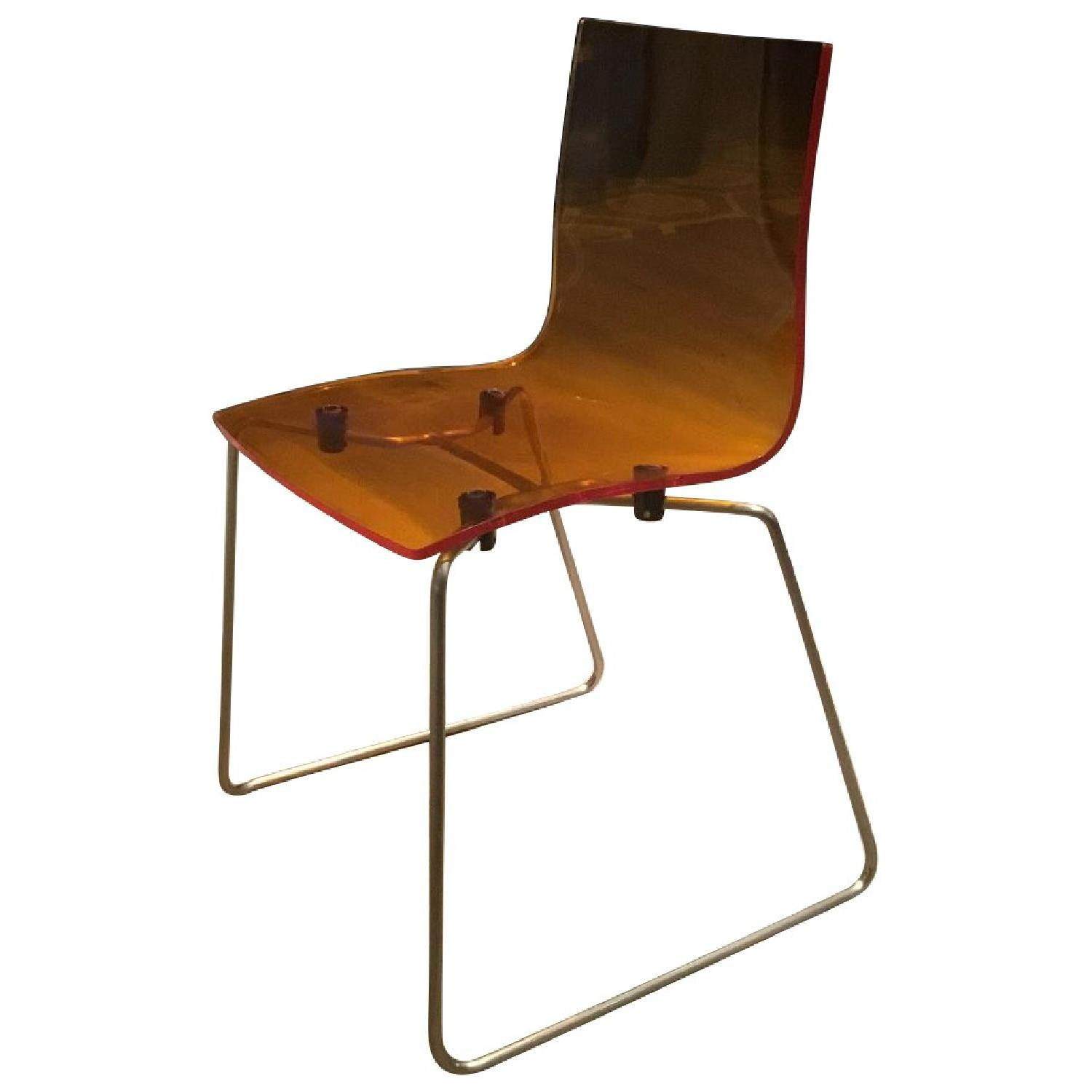 Kartell Acrylic Dining Chairs - image-0
