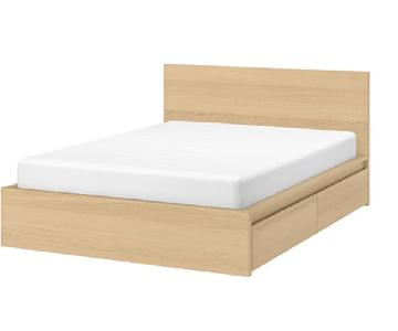 Ikea Malm King Size High Bed Frame