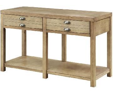 Drirtwood Craftman Sofa Table