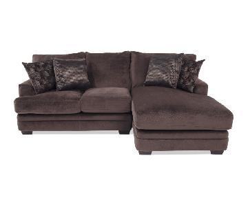 Bob's Charisma 2 Piece Left Arm Facing Sectional Sofa
