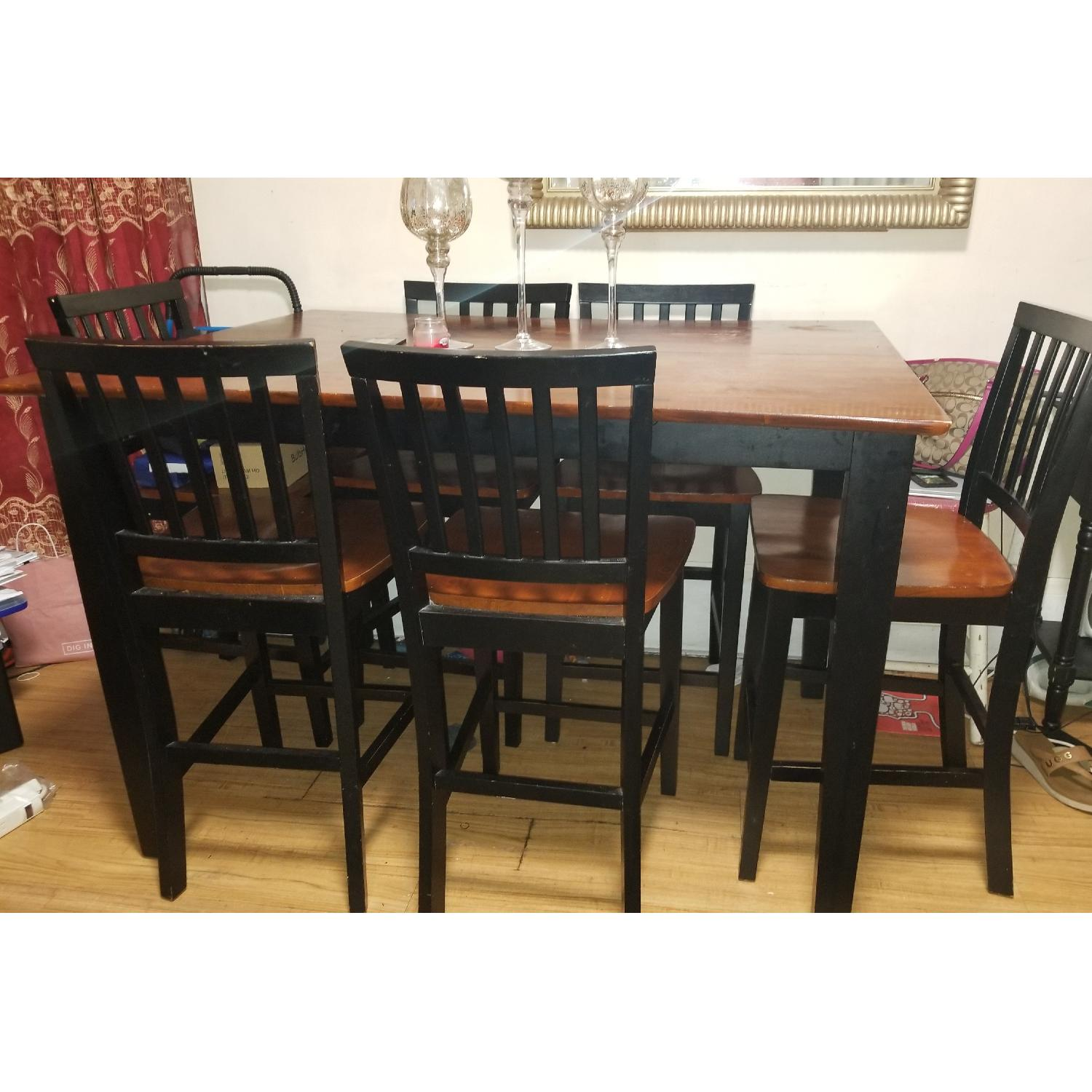 Bob's Montibello Dining Table w/ 6 Chairs - image-1