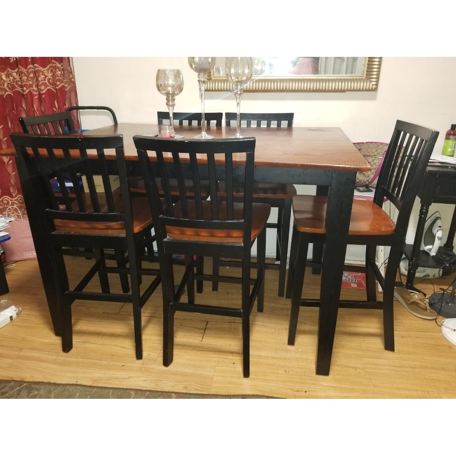 Bob's Montibello Dining Table w/ 6 Chairs - image-2