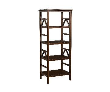 Target Titian 4 Shelf Wood Bookshelf