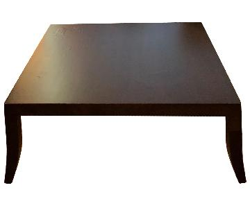 A Rudin Case Goods Solid Wood Coffee Table