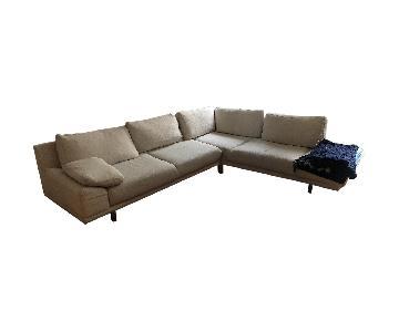 BoConcept 2 Piece Corner Sectional Sofa