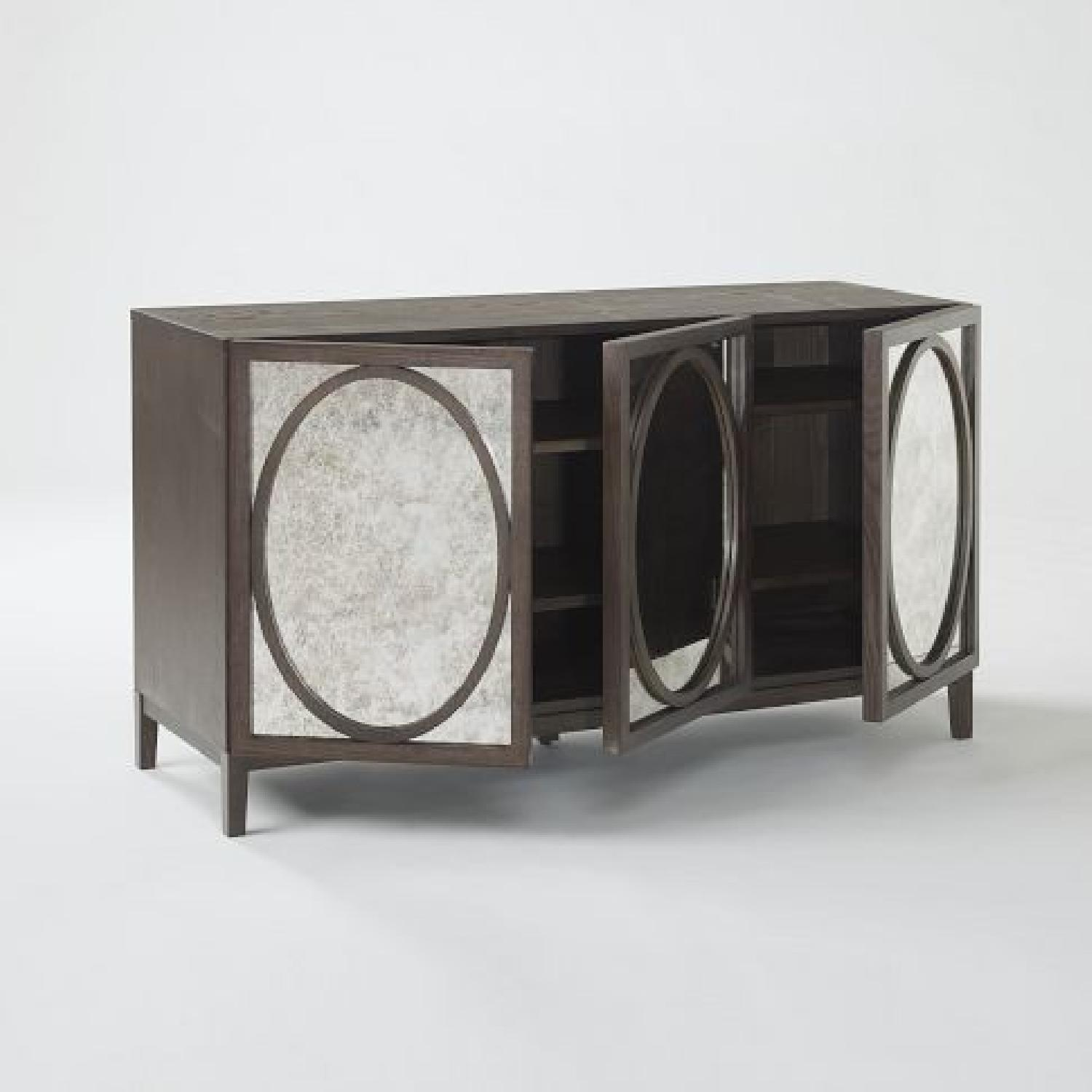 West Elm Foxed Mirror Buffet - image-5