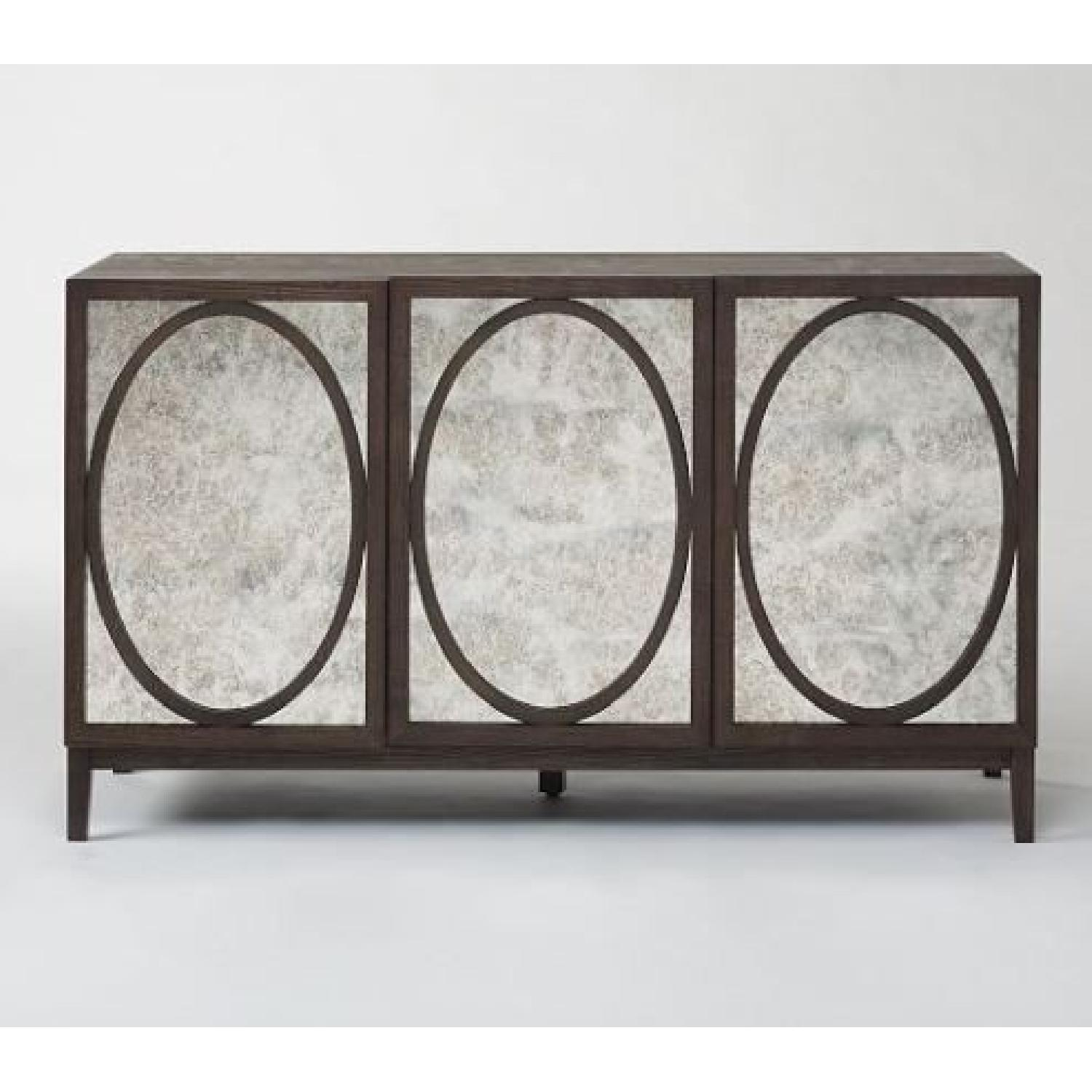 West Elm Foxed Mirror Buffet - image-6