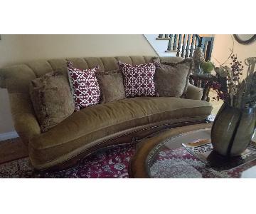 Raymour & Flanigan Schnadig Composition 3 Seater Sofa