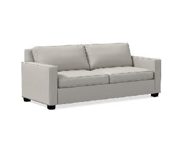West Elm Henry Light Grey Sofa