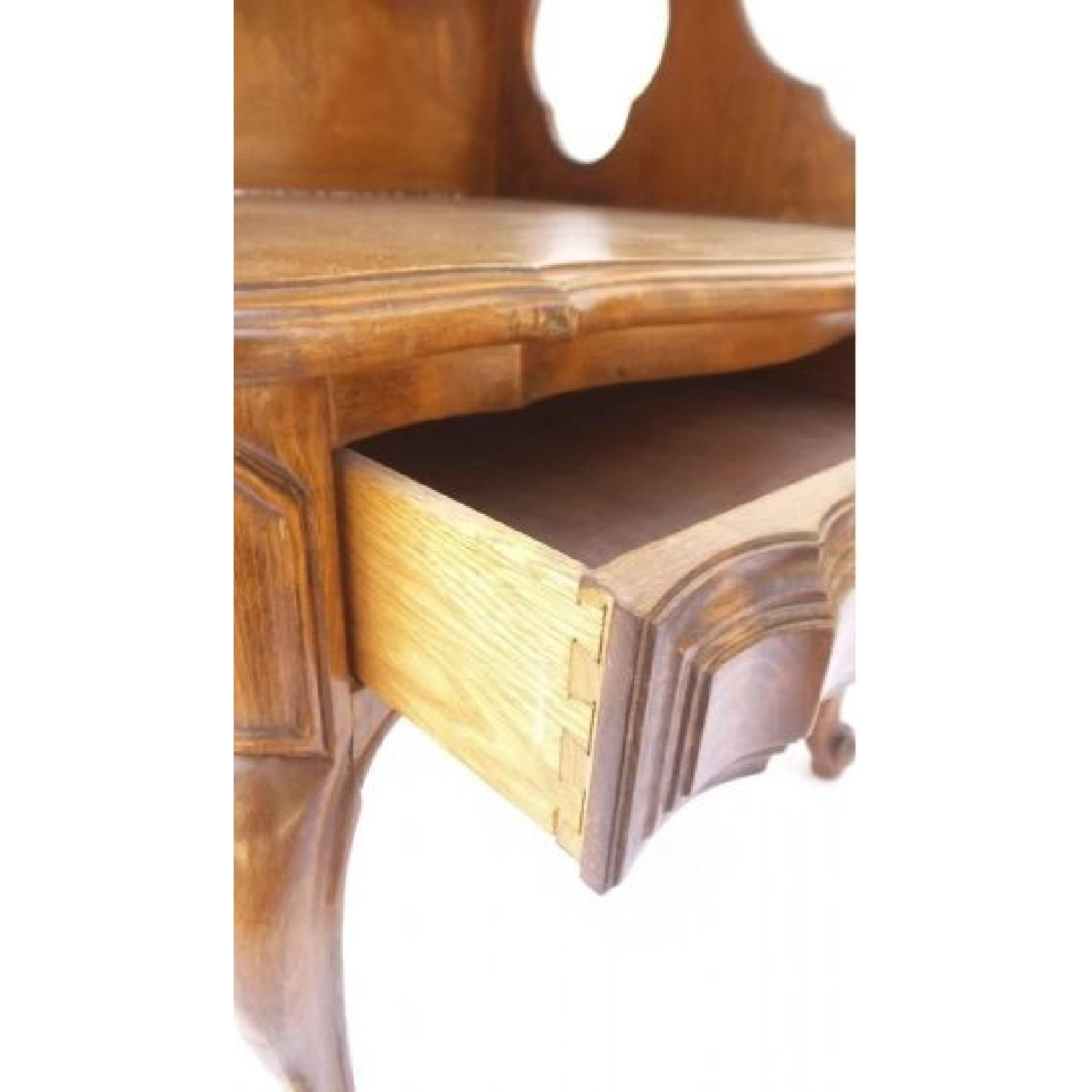 Louis XV Style Walnut Step Table - image-2