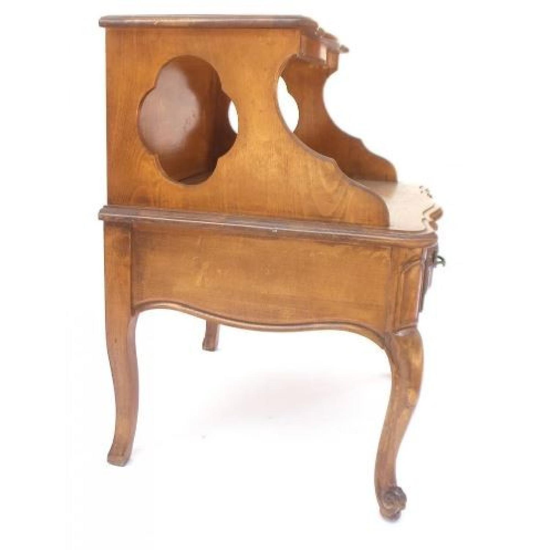 Louis XV Style Walnut Step Table-3