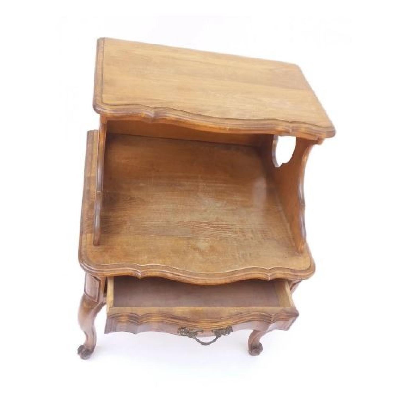 Louis XV Style Walnut Step Table-5