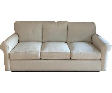 Arhaus Bench Crafted Upholstered Sofa