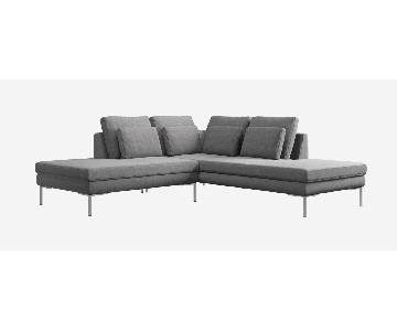 BoConcept Istra 2 Piece Sectional Sofa