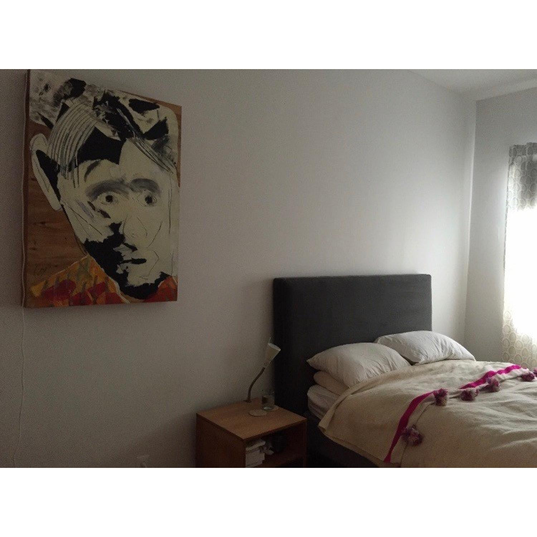 ABC Carpet & Home Velvet Headboard - image-1