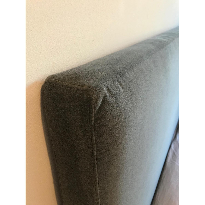 ABC Carpet & Home Velvet Headboard - image-3