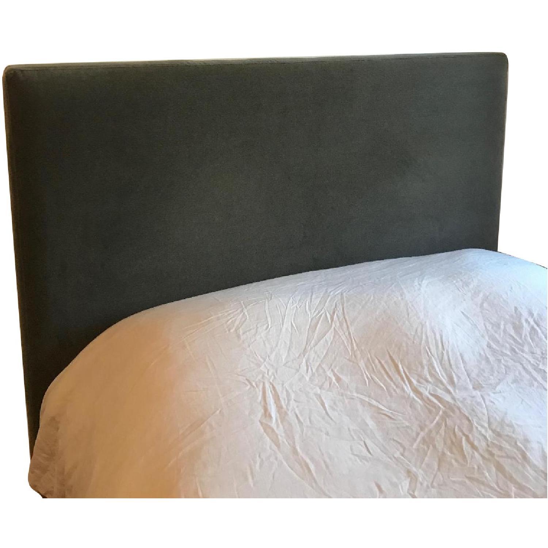 ABC Carpet & Home Velvet Headboard - image-0